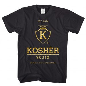 Kosher 90210 Black Gold Lifestyle T