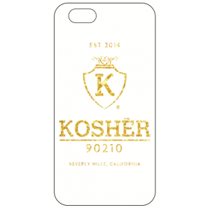 Kosher 90210 iPhone 6 Lifestyle Case WHTGLD